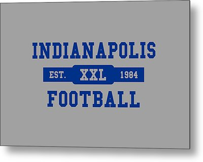 Colts Retro Shirt Metal Print