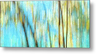Metal Print featuring the photograph Columbia River Abstract by Theresa Tahara