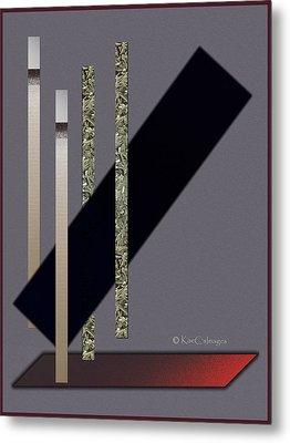 Columns And Spaces Metal Print