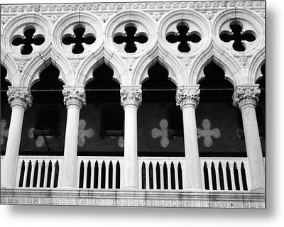 Columns- By Linda Woods Metal Print