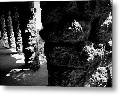 Columns Of The Park Guell Metal Print by Agusti Pardo Rossello