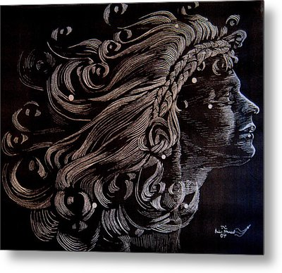 Coma Berenices Metal Print by Eric Hausel