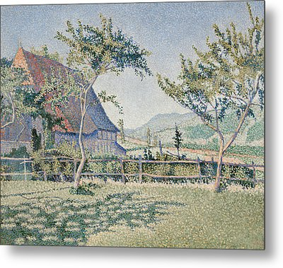 Comblat-le-chateau, The Meadow Metal Print