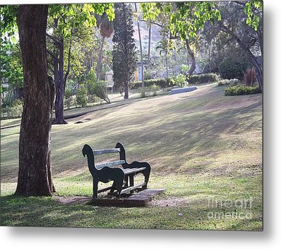 Come And Rest Awhile Metal Print