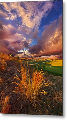Come Dance With The West Wind Metal Print