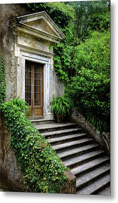 Metal Print featuring the photograph Come On Up To The House by Marco Oliveira
