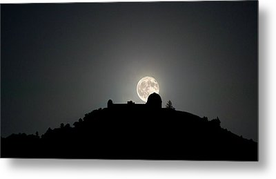 Come On You Stranger, And Shine In On Lick Observatory Metal Print