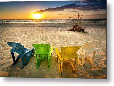 Come Relax Enjoy Metal Print by Marvin Spates