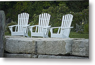 Come Sit A Spell Metal Print by Faith Harron Boudreau