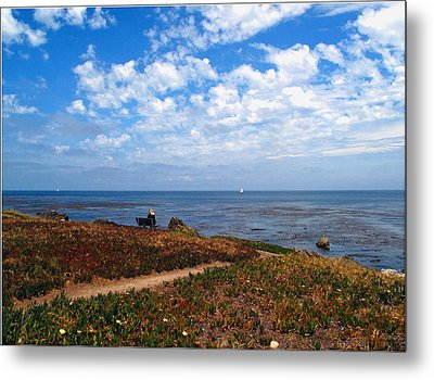 Metal Print featuring the photograph Come Sit With Me by Joyce Dickens