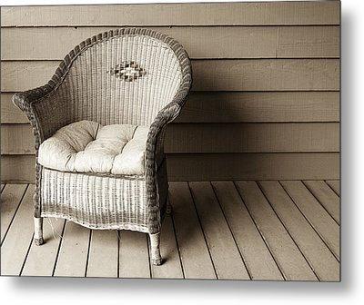 Come Sit With Me Metal Print by Marilyn Hunt