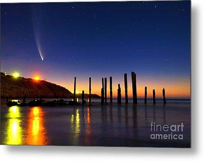 Comet Mcnaughts Metal Print by Bill  Robinson