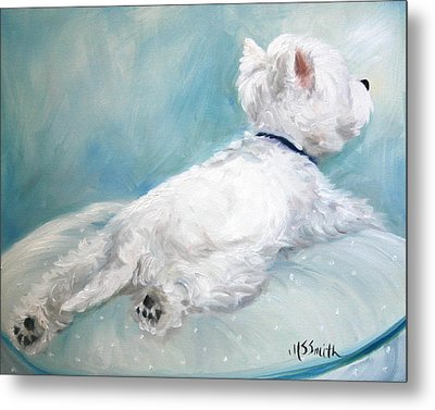 Comfort Zone Metal Print by Mary Sparrow