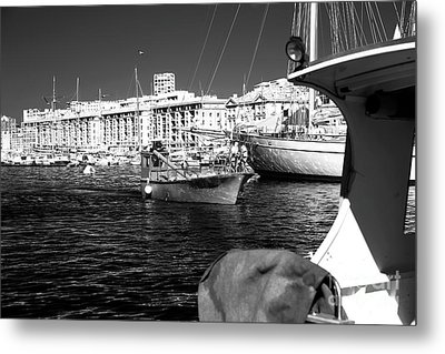 Coming Home In Marseille Metal Print by John Rizzuto