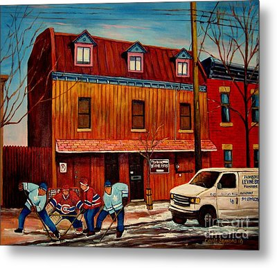 Commission Me Your Store Metal Print by Carole Spandau