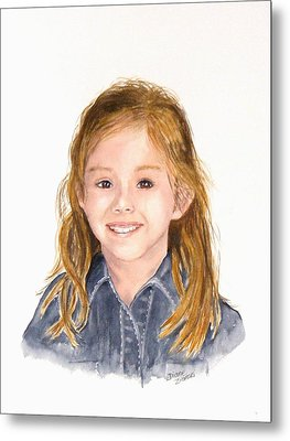 Commissioned Portrait 3 Metal Print