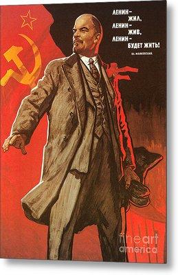 Communist Poster, 1967 Metal Print by Granger