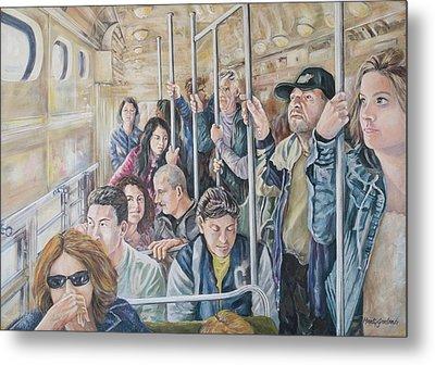 Commuters Metal Print