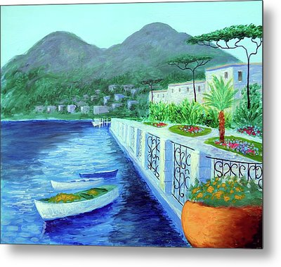 Como A Vision Of Delight Metal Print by Larry Cirigliano