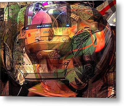 Comp 2 Metal Print by Dave Kwinter