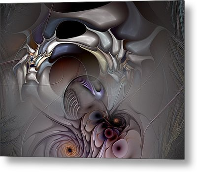 Compartmentalized Delusion Metal Print by Casey Kotas