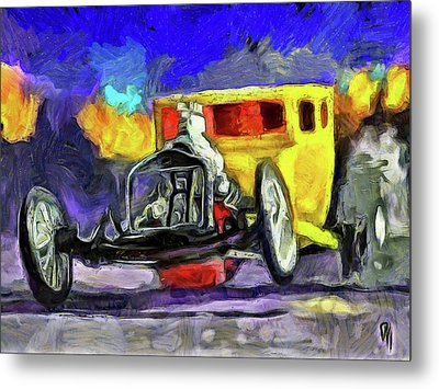 Competition Coupe Van Gogh Metal Print
