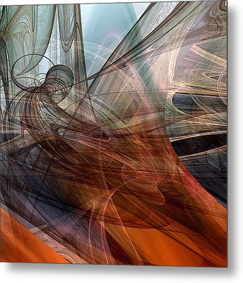 Complex Decisions Metal Print by Ruth Palmer