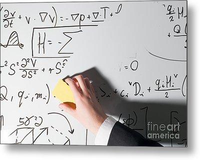 Complex Math Formulas Metal Print