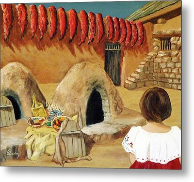 Compound Ovens Metal Print