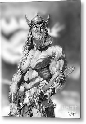Conan Metal Print by Bill Richards