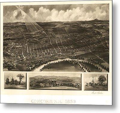 Concord 1899 Metal Print by Mountain Dreams