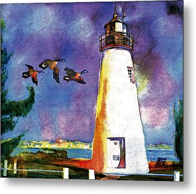 Concord Point Lighthouse Metal Print