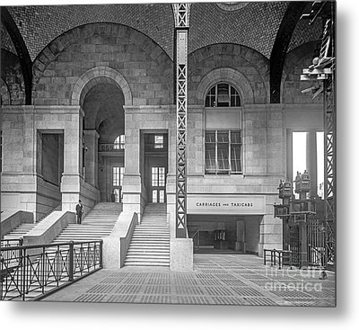 Concourse Exit To 33rd St Metal Print