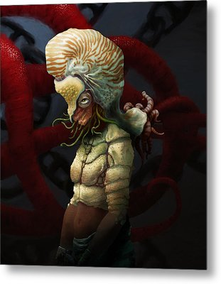 Condemnation Of The Nautilus Metal Print by Ethan Harris