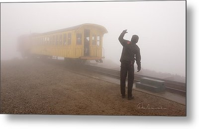 Conductor In The Clouds 7195 Metal Print
