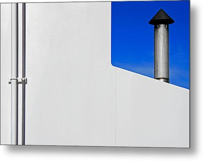 Metal Print featuring the photograph Conduits by Richard George