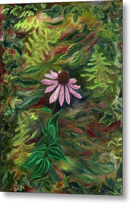 Coneflower Metal Print by FT McKinstry