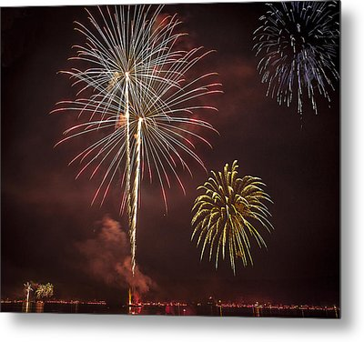 Conesus Ring Of Fire 2015 Metal Print by Richard Engelbrecht