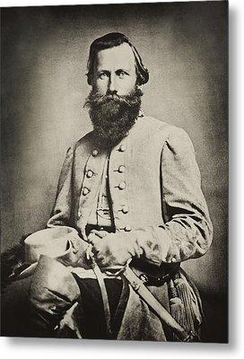 Confederate Jeb Stuart Metal Print by Paul W Faust -  Impressions of Light