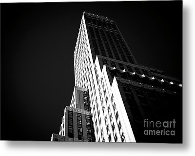 Metal Print featuring the photograph Conflict In The City by John Rizzuto