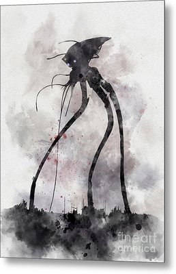 Conflict Metal Print by Rebecca Jenkins