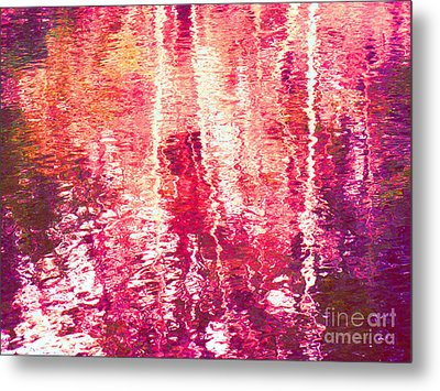 Conflicted In The Moment Metal Print by Sybil Staples