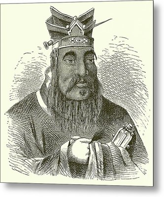 Confucius Metal Print by English School