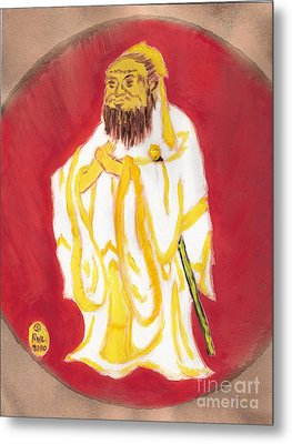 Confucius Wisdom Metal Print by Richard W Linford