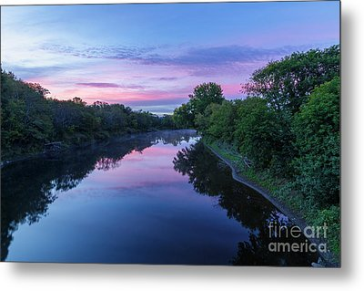 Connecticut River - Stratford New Hampshire  Metal Print by Erin Paul Donovan