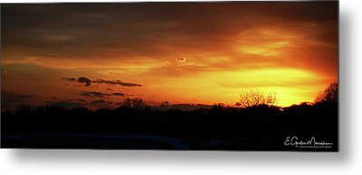 Connecticut Sunset Metal Print by Gordon Mooneyhan