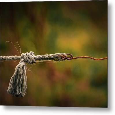 Metal Print featuring the photograph Connection by Odd Jeppesen