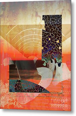 Connections In Space Metal Print by Robert Ball