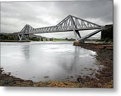 Connel Bridge Metal Print