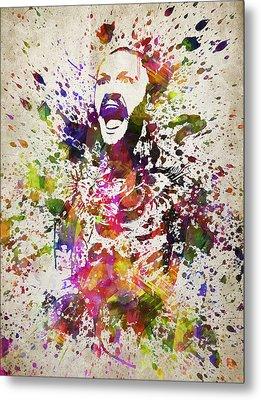 Conor Mcgregor In Color Metal Print